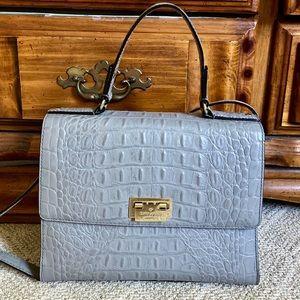 Kate Spade Knightsbridge Doris croc satchel